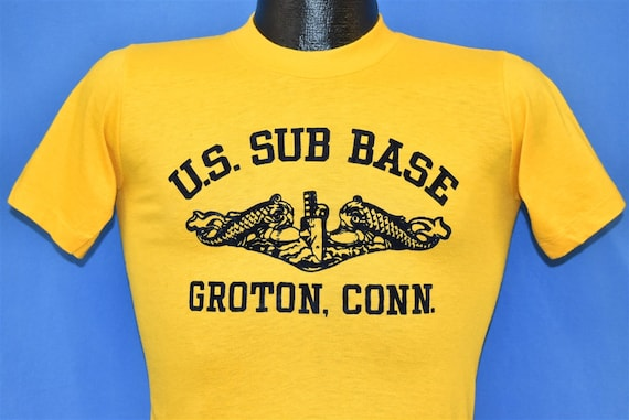 70s US Naval Submarine Base Groton Connecticut Sof