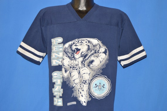 80s Penn State Nittany Lions Jersey T Shirt Large