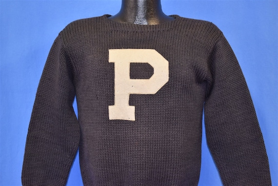 30s Penn State University Letterman College Sweate
