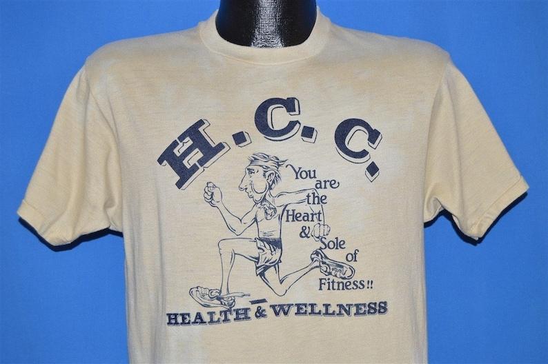 80s Health and Wellness HCC t-shirt Medium