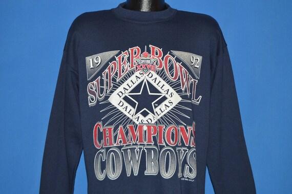 90s Dallas Cowboys Super Bowl XXVII Sweatshirt Extra Large  51727e0ca