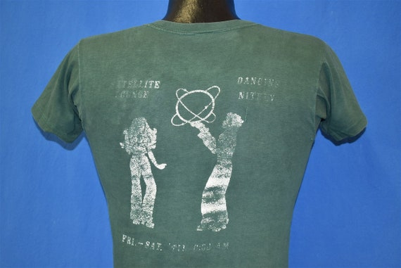 70s Satelite Lounge Distressed t-shirt Extra Small - image 4