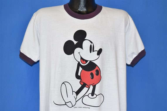 70s Mickey Mouse Walt Disney Cartoon Classic Ringe