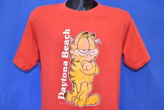 80s Garfield Cartoon Daytona Beach Florida t-shirt