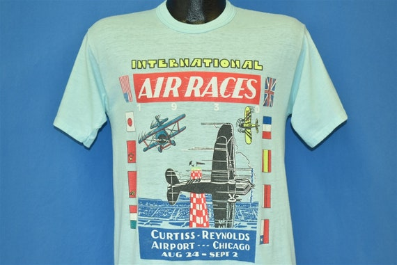 80s International Air Races 1930 Poster Curtiss Re