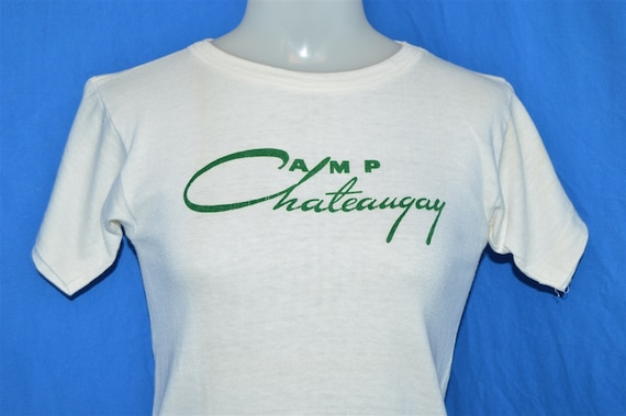 50s Camp Chateaugay Champion Running Man t-shirt Y