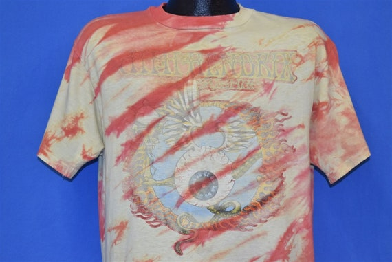 80s Jimi Hendrix Experience Flying Eyeball Tie Dye