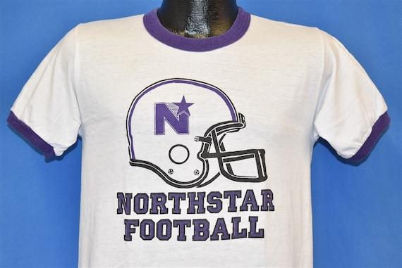 70s Northstar High School Football Ringer t-shirt
