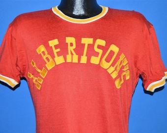 50s Albertson's Jersey Ringer t-shirt Medium