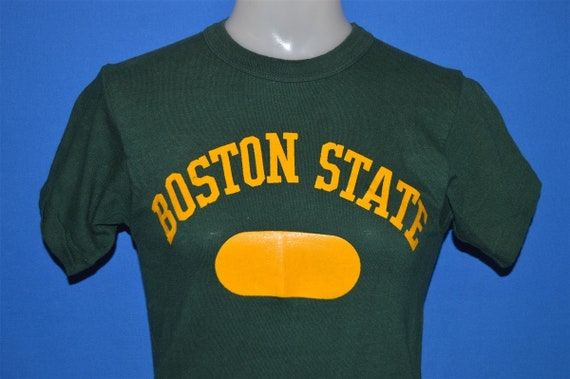 50s Boston State College UMass t-shirt Small - image 1