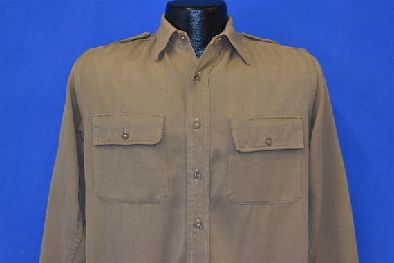 40s US Army Officer's Uniform Shirt Small