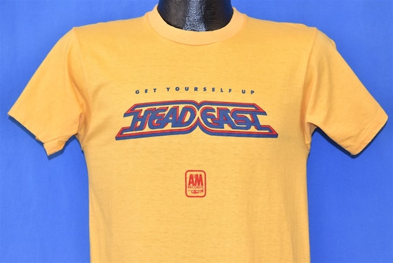 70s Head East A&M Records Get Yourself Up Yellow t