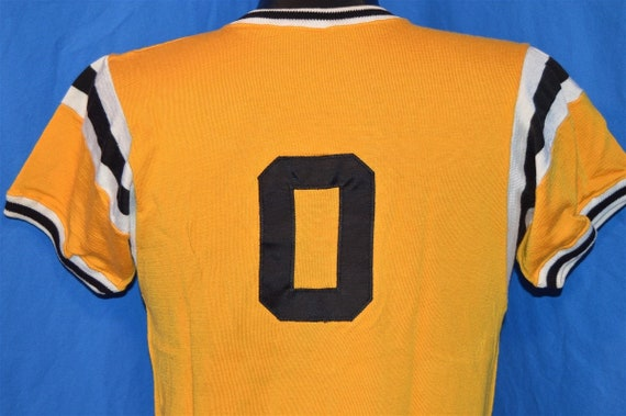 50s Sigma Nu Greek Fraternity Jersey t-shirt Small - image 3
