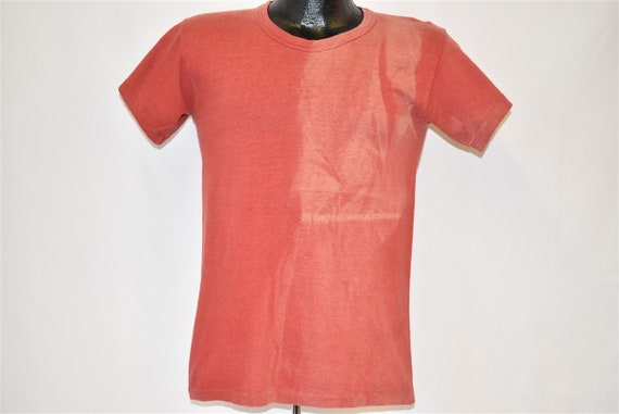 50s Nelson's Bobcats Distressed t-shirt Small - image 3