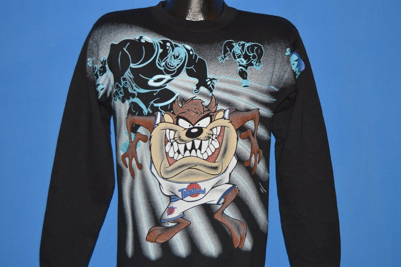 90s Space Jam tune Squad Sweatshirt Youth Extra Large  6d79bca17