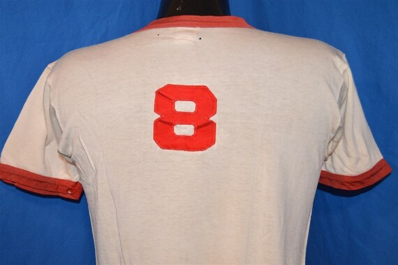 50s General Athletic Ringer jersey #8 t-shirt Medi