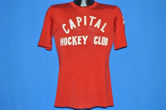50s Capital Hockey Club Jersey t-shirt Small - image 2