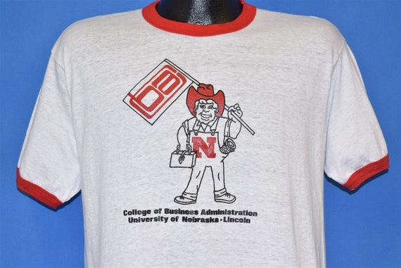 70s University Nebraska Herbie Husker Cornhuskers