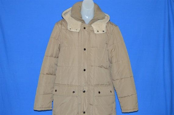 80s Sear's Women's Sherpa Parka Winter Jacket Smal