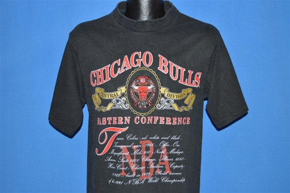 90s Chicago Bulls 1991 Eastern Conference t-shirt