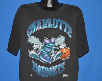 90s Charlotte Hornets Hugo t-shirt Extra Large
