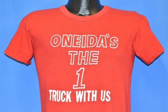 70s Oneida's The 1 Truck With Us Trucker Soft t-sh