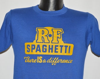 80s RF Spaghetti There Is a Difference t-shirt Small