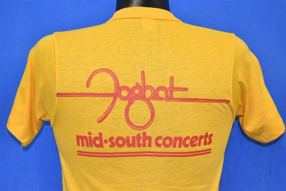80s Foghat & Pat Travers Band 1980 t-shirt Small - image 3