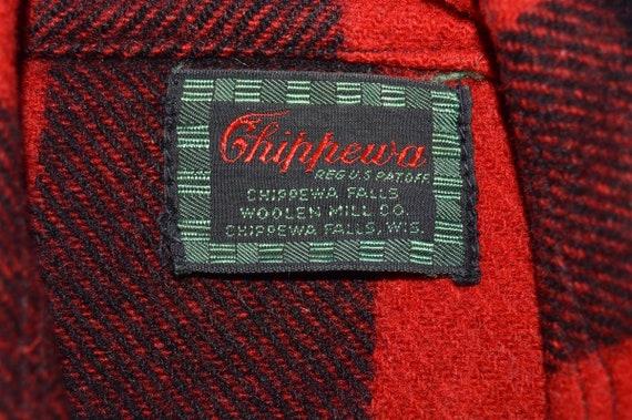 40s Chippewa Buffalo Plaid Wool Hunting Jacket Me… - image 3