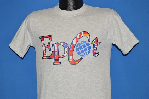 80s Epcot Walt Disney World t-shirt Small