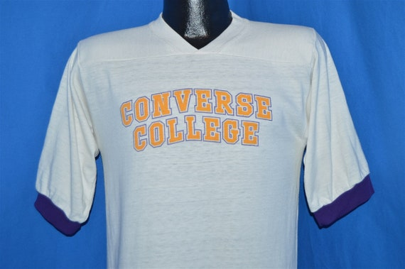 70s Converse College Ringer Jersey t-shirt Small