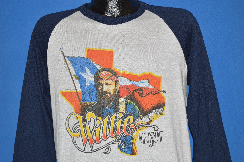 80 s Willie Nelson de ville de Nelson la Nouvelle-Orléans l'Album t-shirt Large 0c18a1