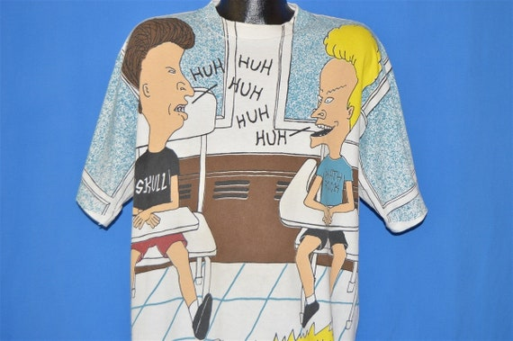 90s Beavis And Butthead All Over Print MTV t-shirt