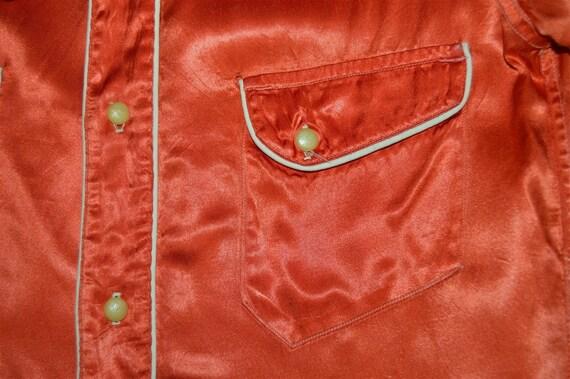 40s H Bar C Ranchwear Celanese Women's Western sh… - image 3