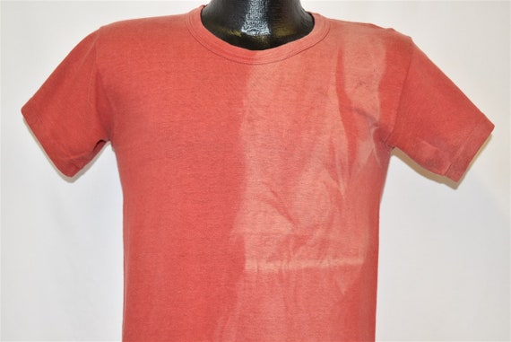 50s Nelson's Bobcats Distressed t-shirt Small - image 2