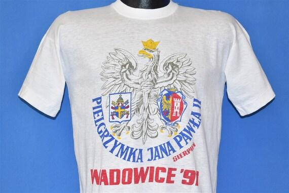 90s Pielgrzymka Jana Pawea II Sierpien Wadowice 91
