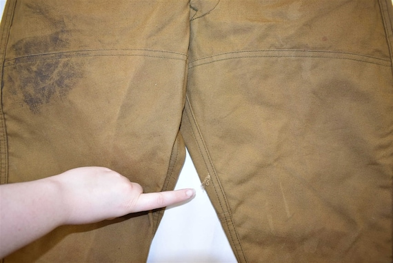 40s Blue Bill Duck Hunting Pants Size 32 - image 4