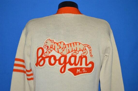 50s Bogan High School Letterman Sweater Medium