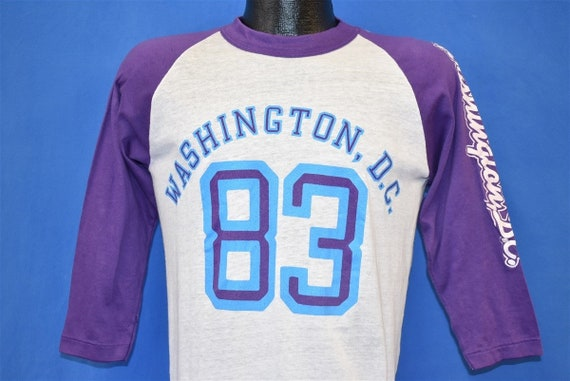 80s Washington DC 1983 Tourist t-shirt Medium - image 1