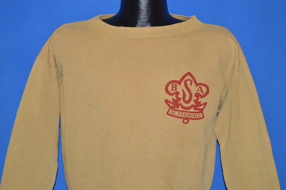40s Boy Scouts of America Logo Sweatshirt Medium