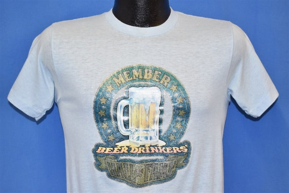 70s Beer Drinkers Hall of Fame Member Glitter Iron