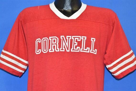 70s Cornell University Big Red Jersey t-shirt Medi