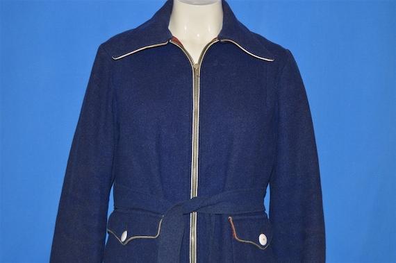 40s Womens Wool Ski Jacket Medium - image 2