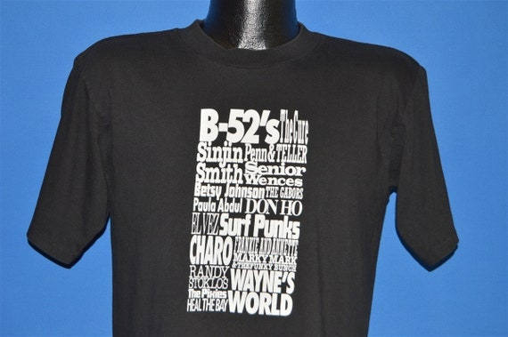 90s LA Gear Tour B-52's Pixies The Cure t-shirt Me