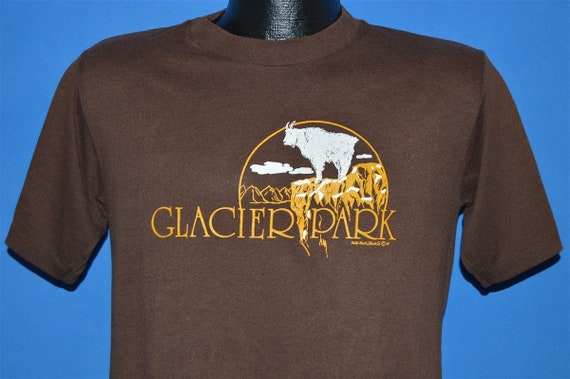 80s Glacier National Park Montana Tourist t-shirt