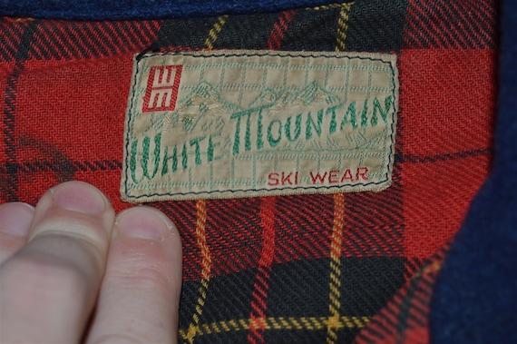 40s Womens Wool Ski Jacket Medium - image 4
