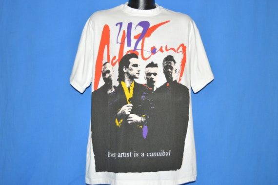 90 s zoo Actung Baby TV Tour All Over t-shirt impression t-shirt Over Extra Large 95256a