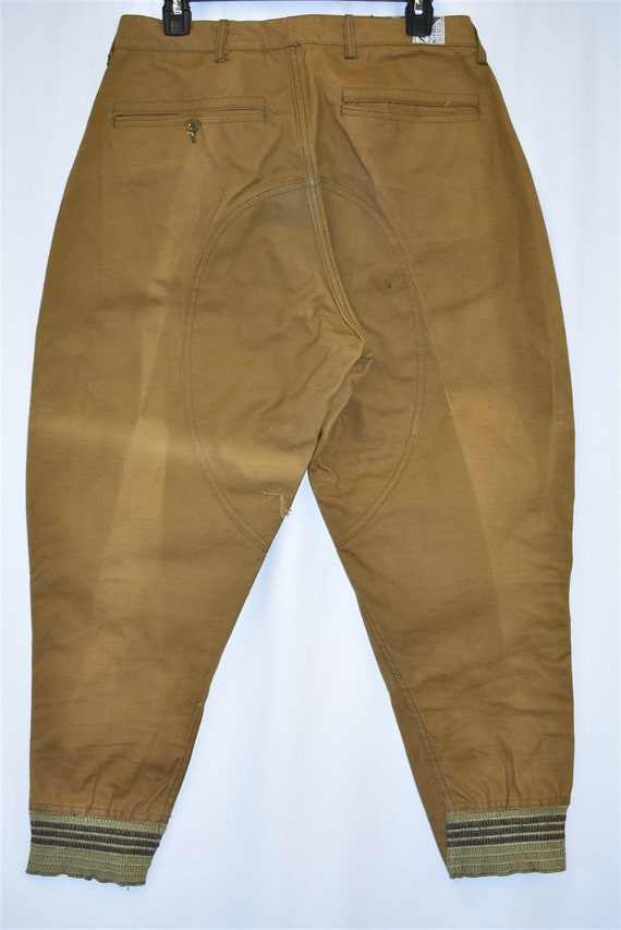 40s Blue Bill Duck Hunting Pants Size 32 - image 5