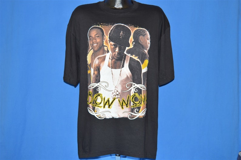 Y2K Lil Bow Wow Beware of Dog Deadstock t-shirt Extra Large