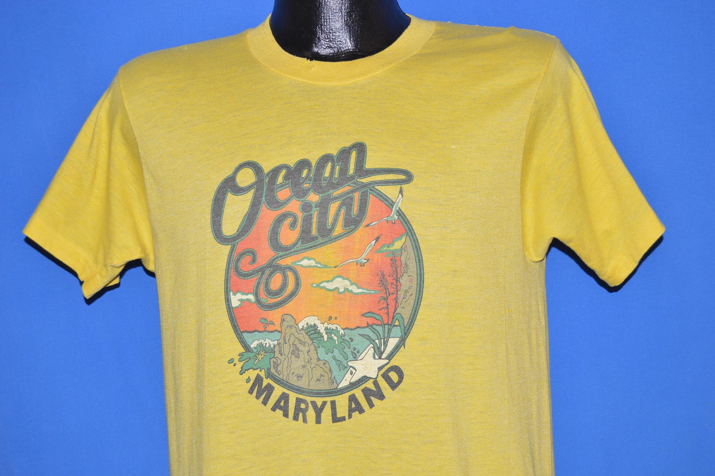 80 t-shirt s Ocean City Maryland touristiques t-shirt 80 Medium a5cf3b
